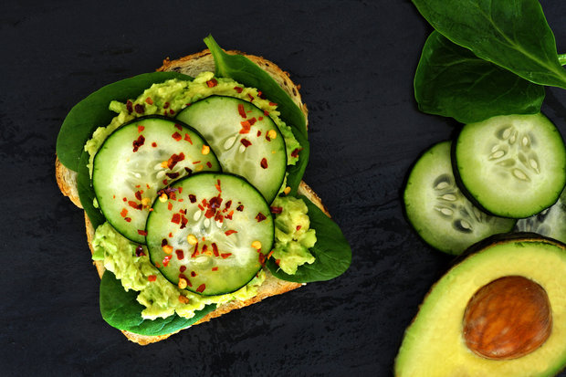 toast avokádo Foto: