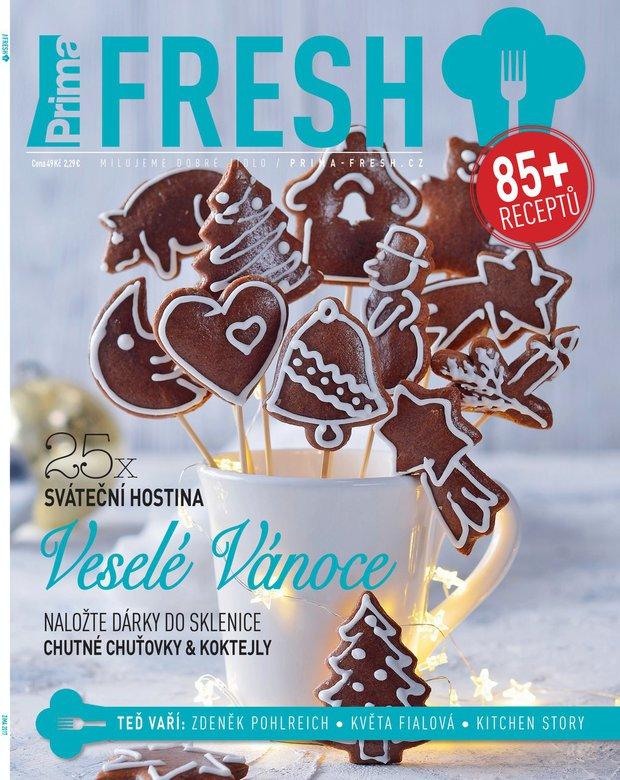 Zimní číslo časopisu Prima FRESH Foto: