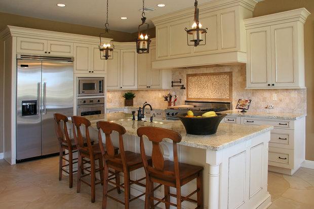 S tímto kuchyňským ostrůvkem by byli Raci velmi spokojení. Foto: