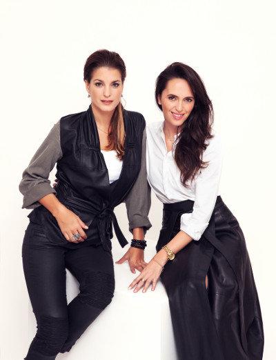 Eva Jasanovská a Lucie Janotová Foto: