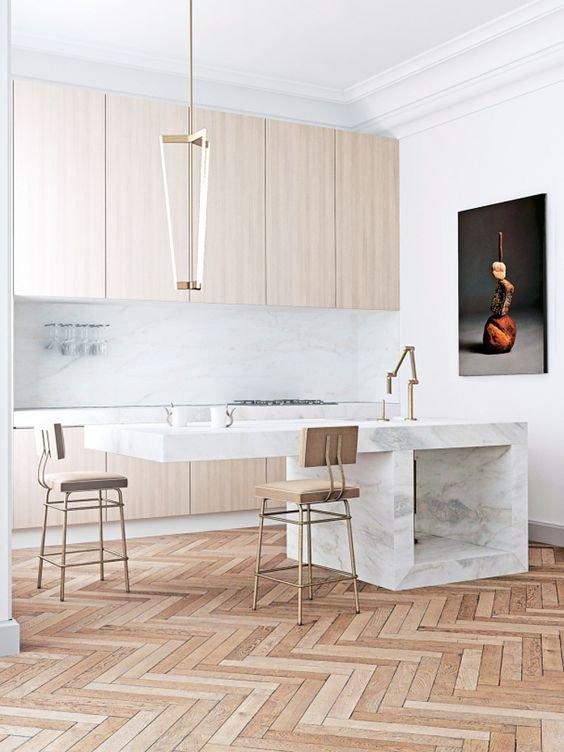Minimalistická kuchyň vypadá skvěle, ale vařilo by se vám tam dobře? Foto: