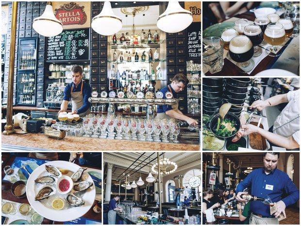 V Bruxxu si dejte mušle, hranolky a degustační set belgických piv Foto: