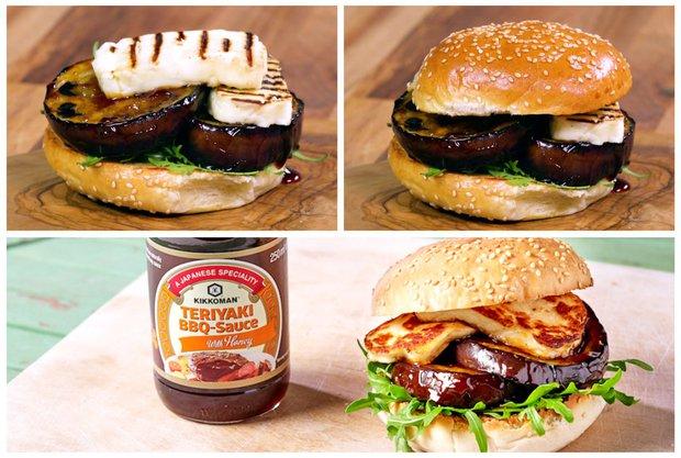 Veggie burger s lilkem  Foto:
