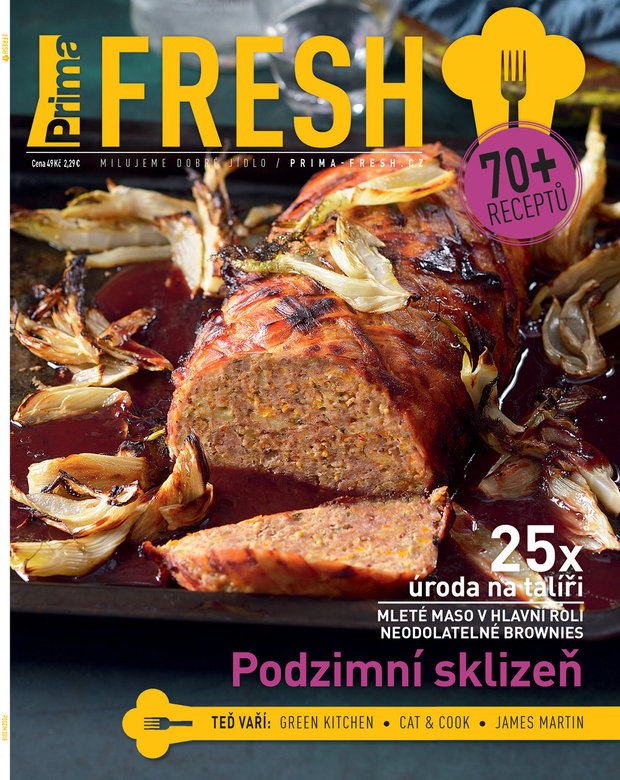Časopis Prima FRESH podzim 2018 Foto: