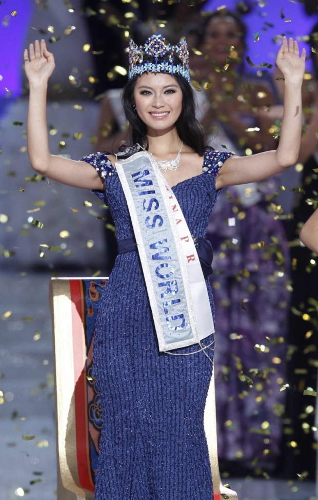 Miss World 2012 se stala Číňanka Jü Wen-sia Foto: Isifa