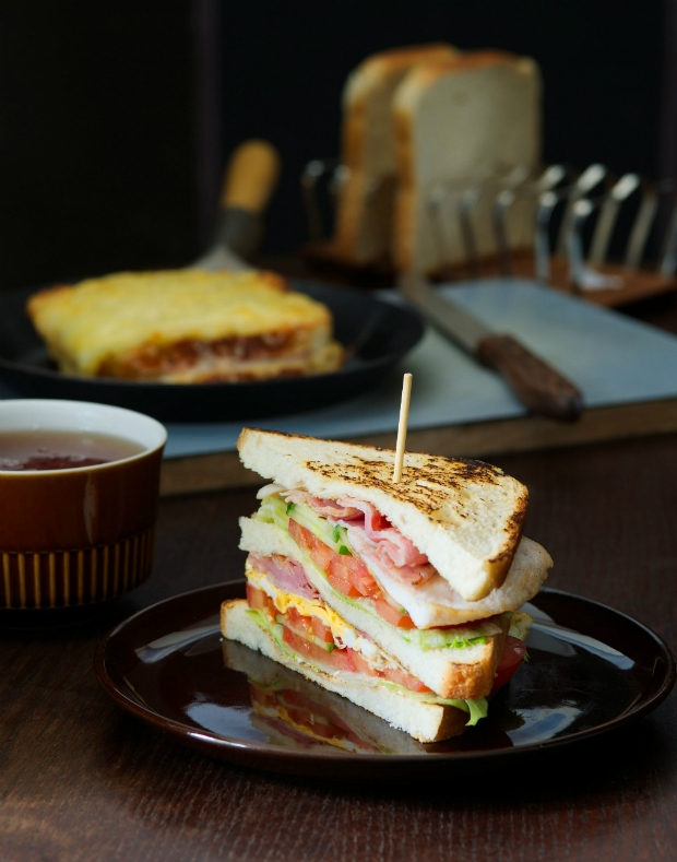 Club sandwich Foto: Muži sobě