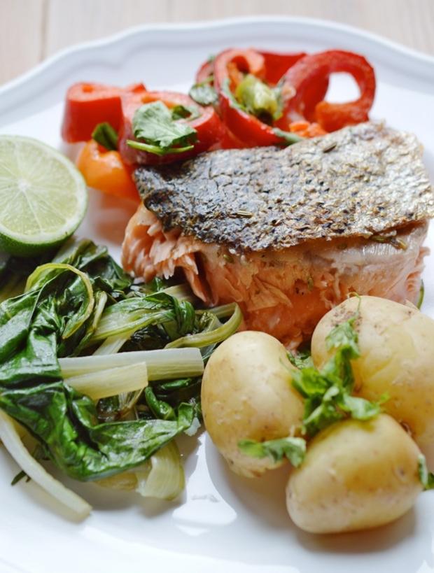 Extra křupavý losos Foto: Thinkfood.cz