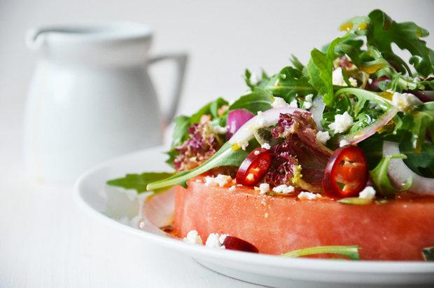 Pikantní melounový salát  Foto: