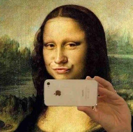 selfie-gioconda Foto:
