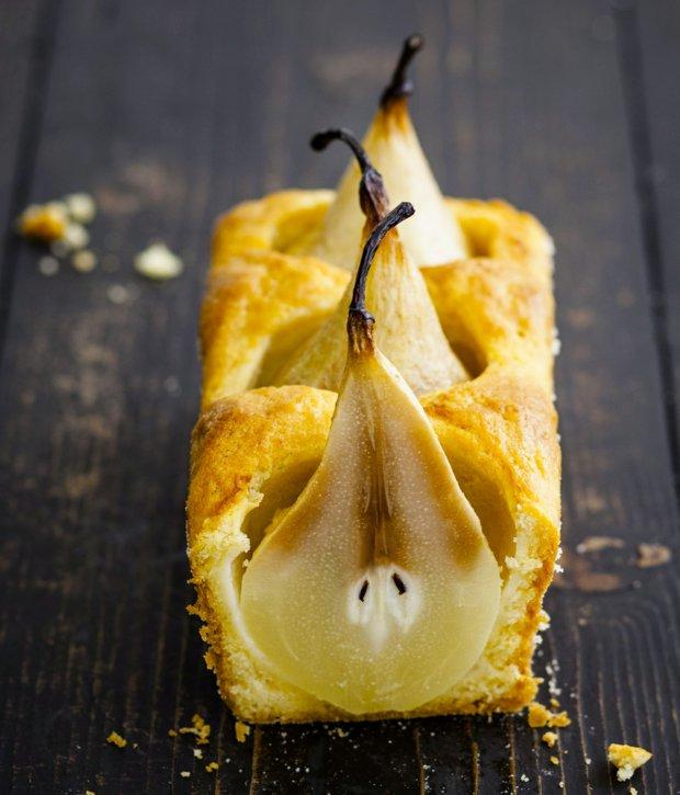 Kořeněný chlebíček se zapečenou hruškou  Foto: