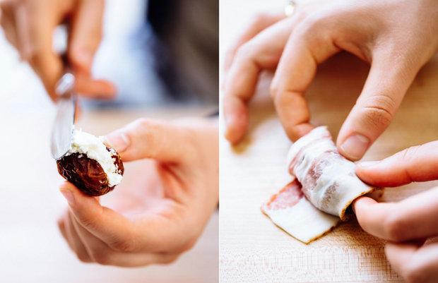 Datle ve slanině 2 Foto: