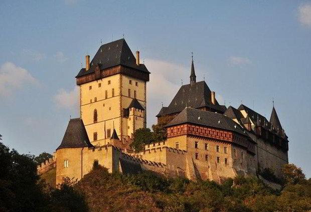 Prohlídky hradu Karlštejna v zimní sezóně Foto:
