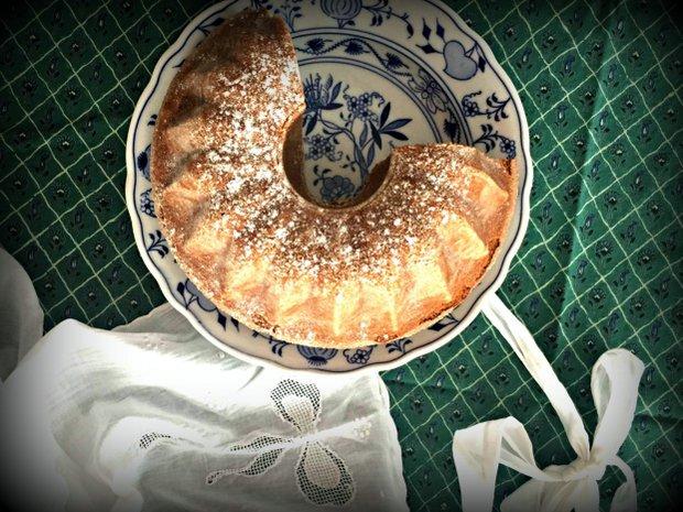 Bezlepková ořechová bábovka Foto: