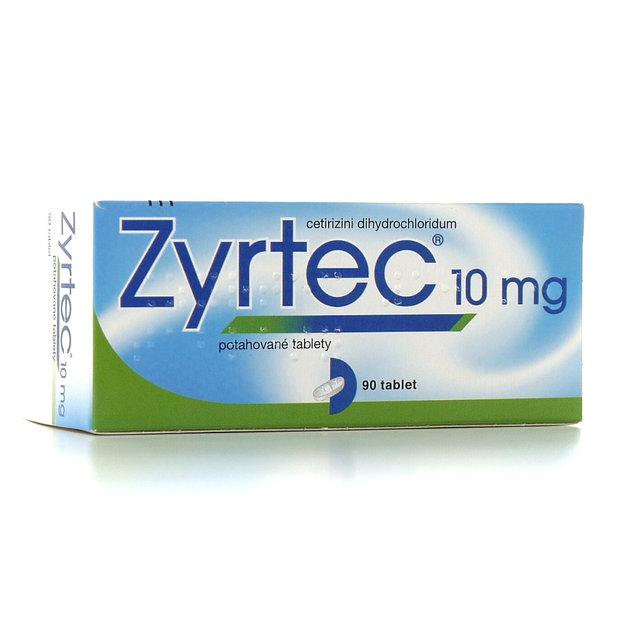 299506 ZYRTEC 90X10MG Potahované tablety_00000 Foto: