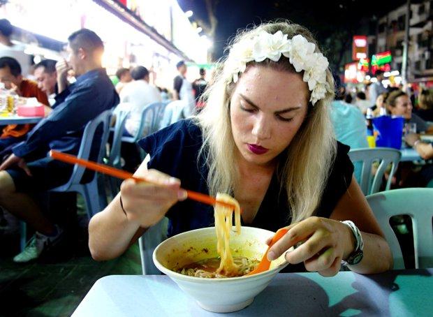 Za jídlem do Malajsie - autorka článku Foto:
