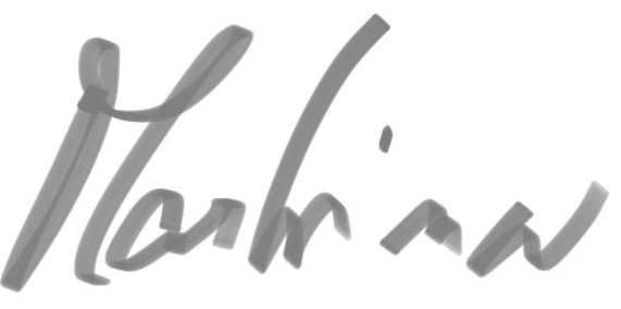 podpis Martina malý Foto: