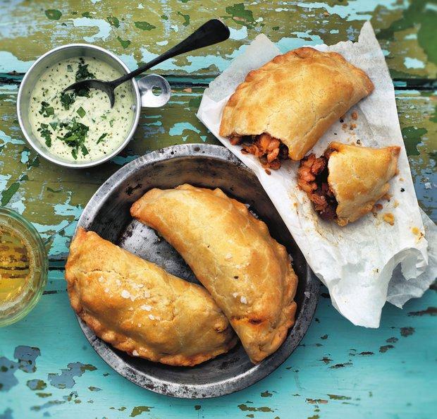 Pikantní kuřecí empanadas  Foto:
