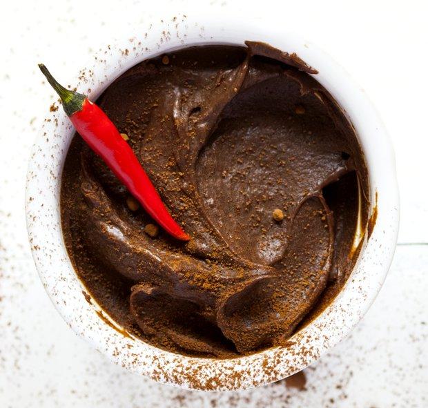 Čokoládová pěna s chilli  Foto: