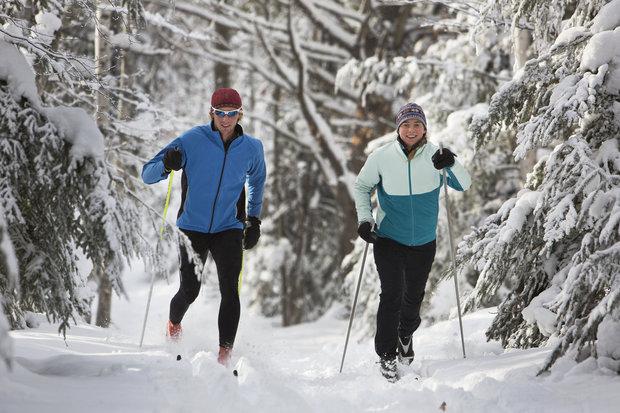Kalorie můžete spalovat venku i během zimy Foto: