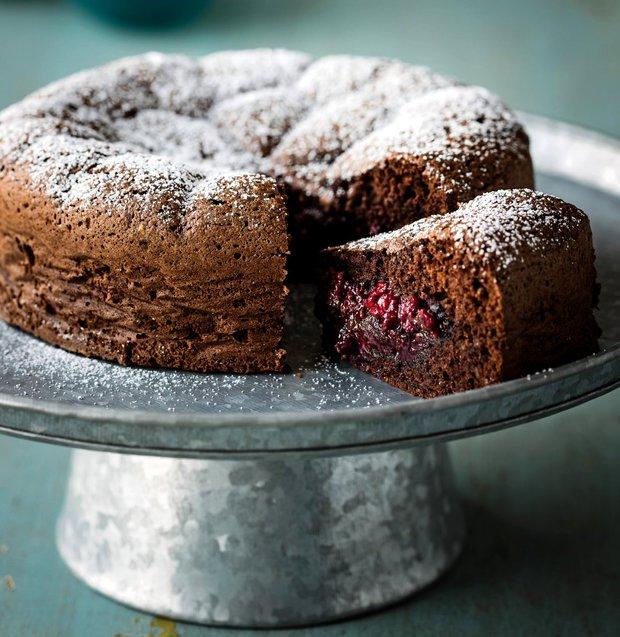 Ovocný sněhový koláč  Foto: