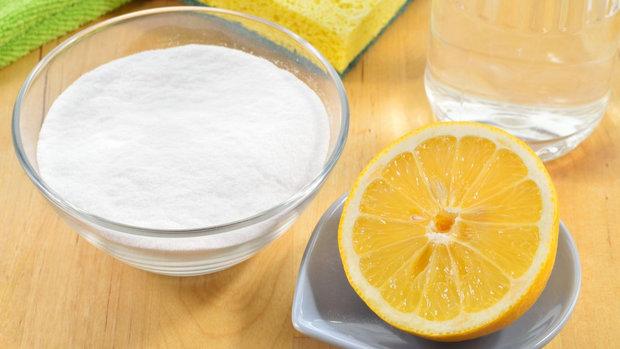 Citron a jedlá soda? Dokonalá dvojka na všechno! Foto: