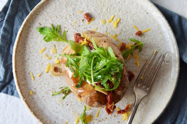 Pečená brambora 2 Foto: