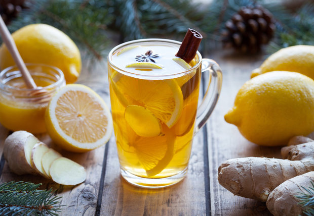 Čaj ohřeje ve studených zimních dnech Foto: