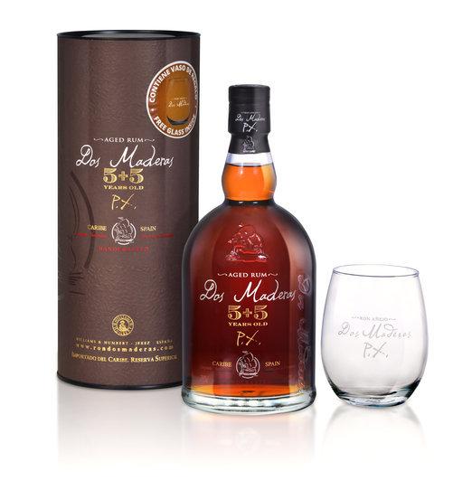 Karibský rum DOS MADERAS v dárkovém boxu, global-wines.cz, cena 869 Kč Foto: