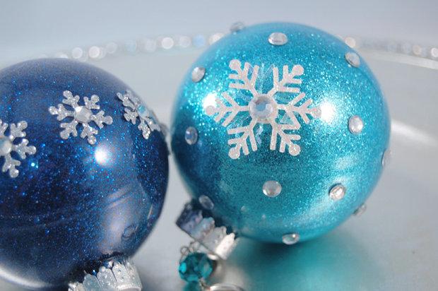 Výroba krásných vánočních ozdob není nijak složitá. Foto: