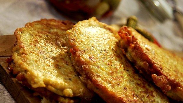 Křenové bramboráčky plněné syrečkem 2 Foto: