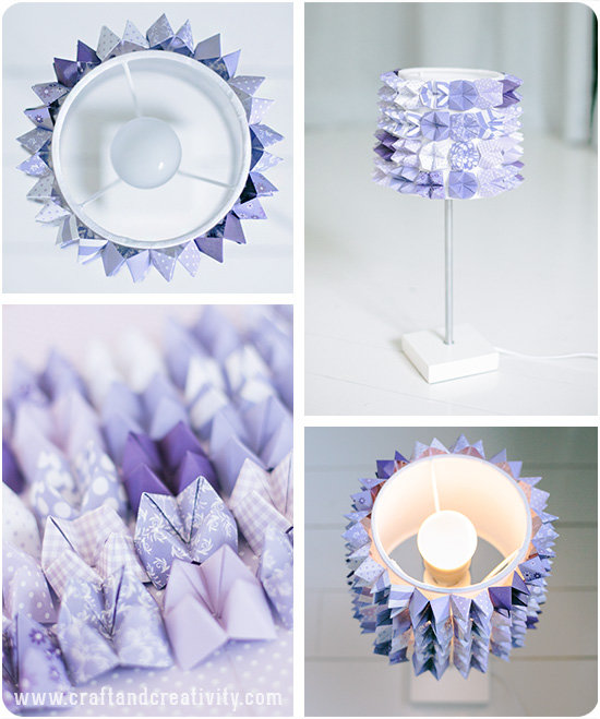 Lampy můžete polepit třeba jen papírem. Foto: