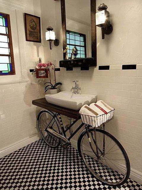Kolo v koupelně? Proč ne! Foto: