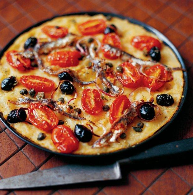 Bramborová pizza - Pizza di patate  Foto: