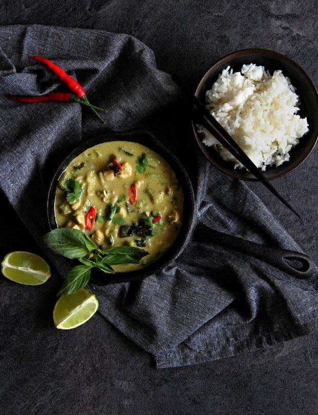 Thajské zelené kari 2 Foto:
