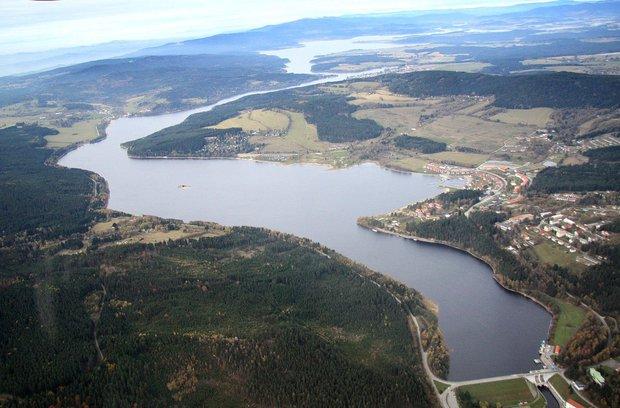 Lipenská přehrada je stále velmi oblíbeným místem v Česku Foto: