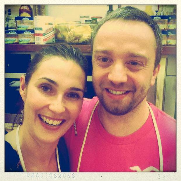 S Klárou v kuchyni n.6 7 Foto: Klára Michalová