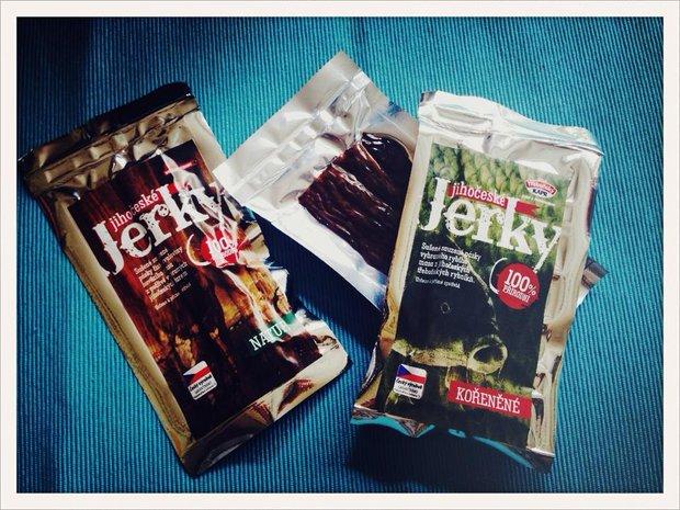 Jihočeské Jerky - sušené kapří maso Foto: Klára Michalová