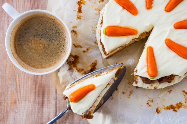 Domácí mrkvový dort s mascarpone Foto: Thinkstock