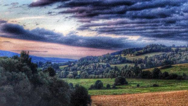 Výhled od chalupy skýtal magický pohled Foto: Klára Michalová