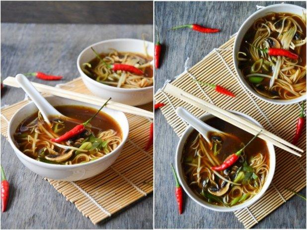 Kyselo-pálivá asijská polévka  Foto: