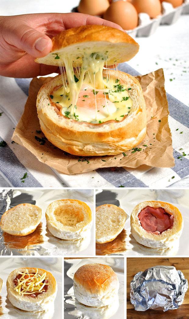 Houskové misky s vajíčkem 2 Foto: