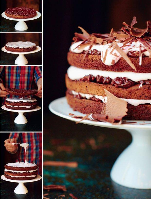 Slavnostní čokoládový dort podle Jamieho Olivera 3 Foto: