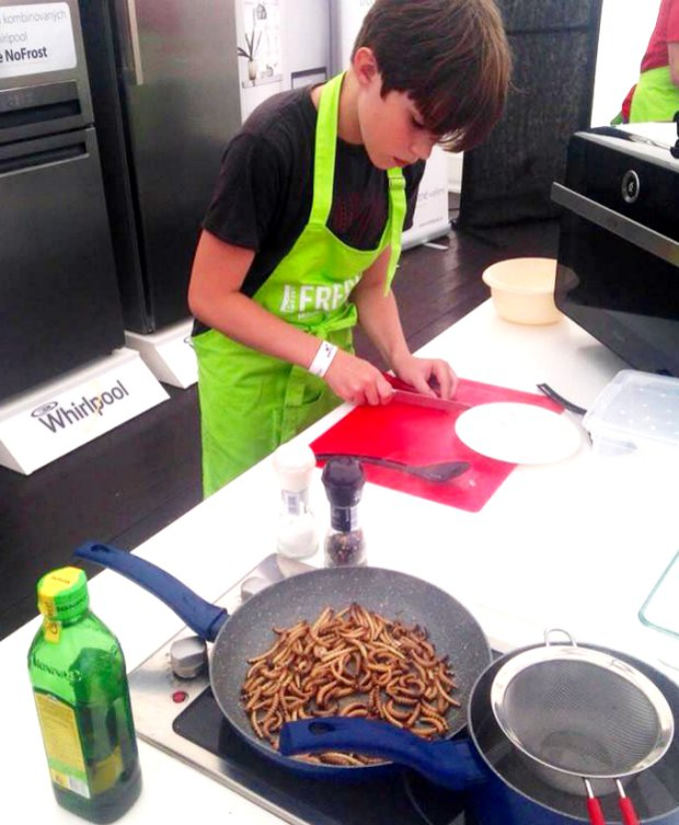Petr Oknecht - šéfkuchař jedlého hmyzu 4 Foto: