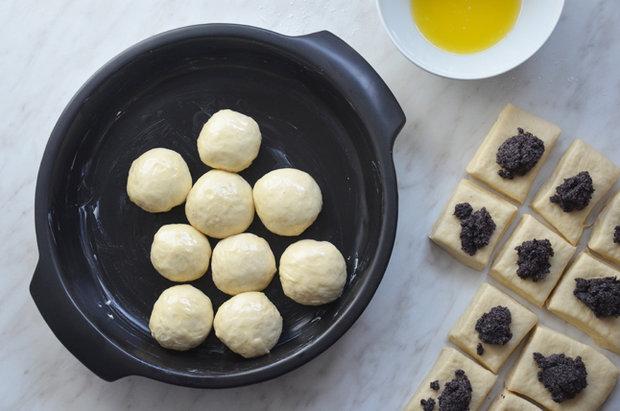 Makové buchty s vanilkovou omáčkou 2 Foto: