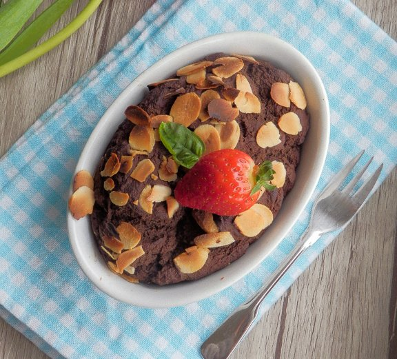 čokoládový dortík z quinoy Foto: