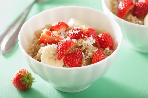 snídaně quinoa Foto: