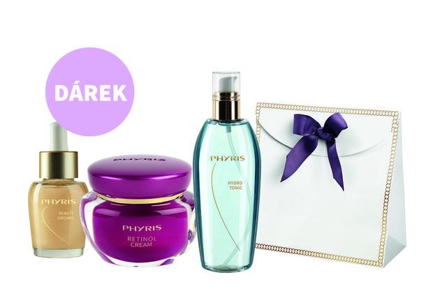 Phyris – zvýhodněný balíček německé přírodní spa kosmetiky proti vráskám, viviane.cz, cena 1815 Kč  Foto: