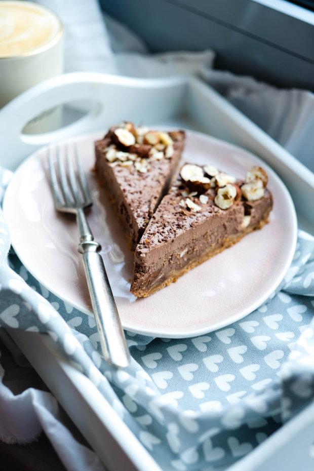 Arašídovočokoládový cheesecake ze skyru 2 Foto: