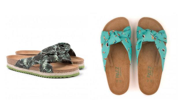 Pantofle PAEZ, různé motivy, cena 1730 Kč Foto: