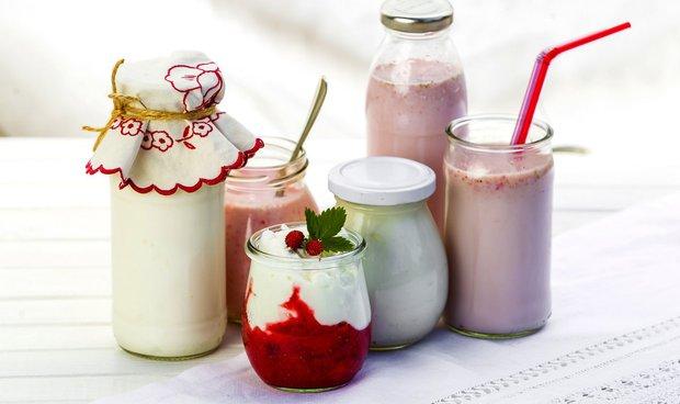 Zakysané mléčné výrobky a tvarohy  Foto: